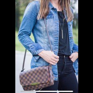 Authentic Louis Vuitton Favorite MM Damier Ebene